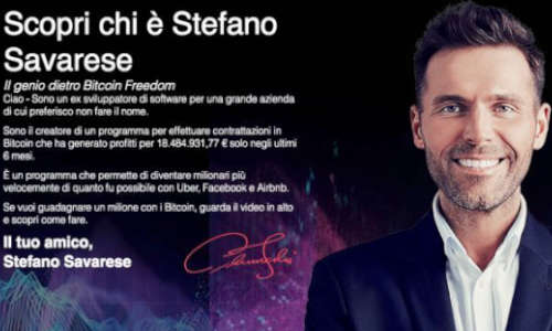 Stefano Savarese evitare truffe on line